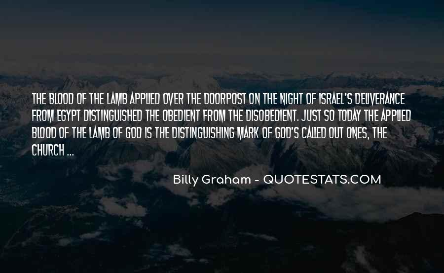 Quotes About The Blood Of The Lamb #699353