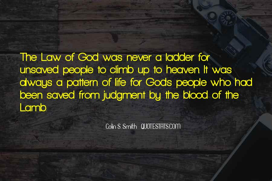 Quotes About The Blood Of The Lamb #861458