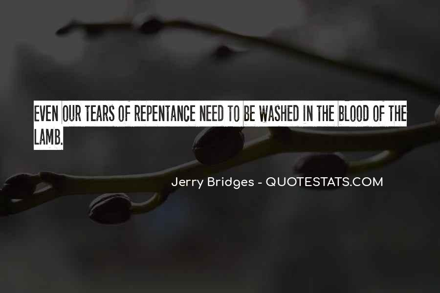 Quotes About The Blood Of The Lamb #896137