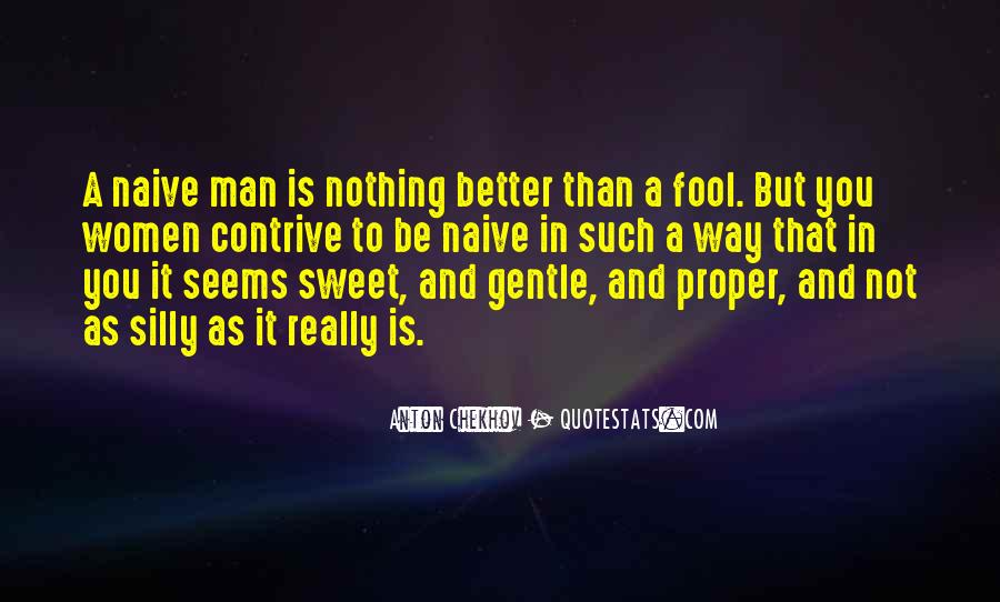 Quotes About Sweet Man #362842