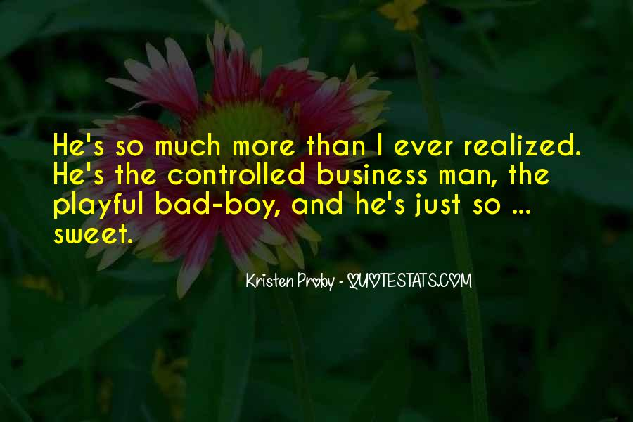 Quotes About Sweet Man #492748