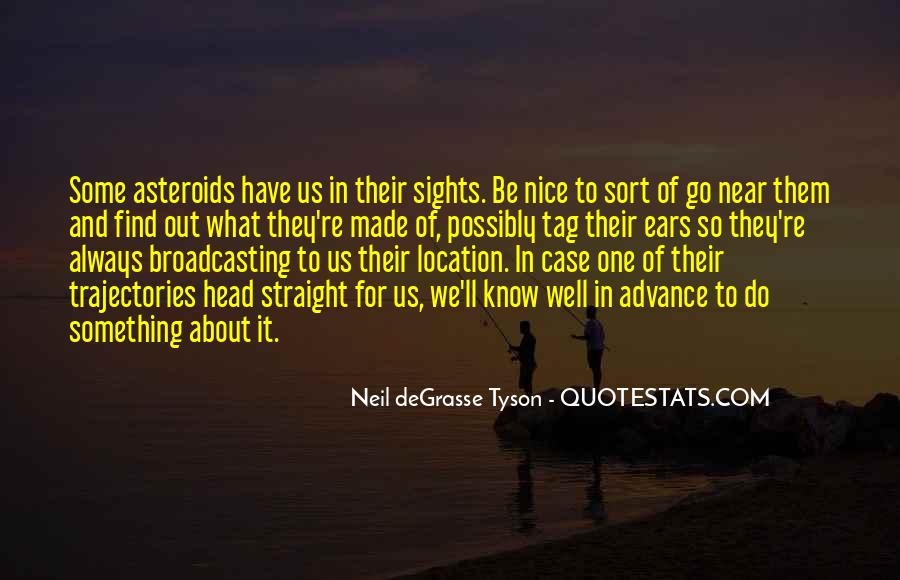 Quotes About Asteroids #1008538