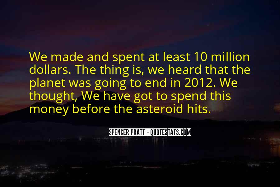 Quotes About Asteroids #144530