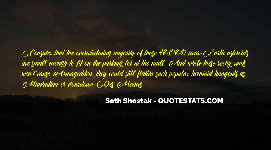 Quotes About Asteroids #525640