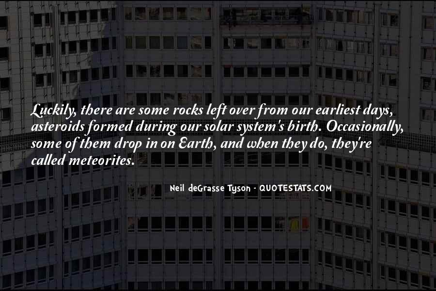 Quotes About Asteroids #765057