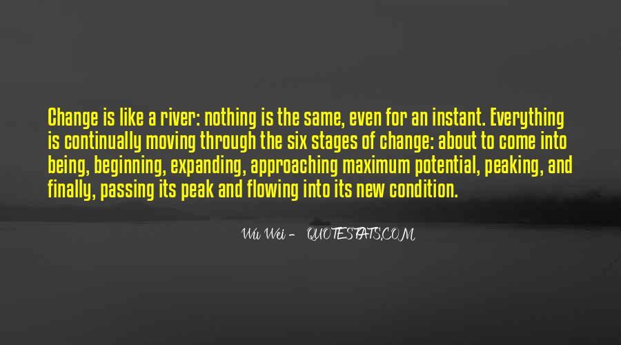 Quotes About Flowing With Change #697751