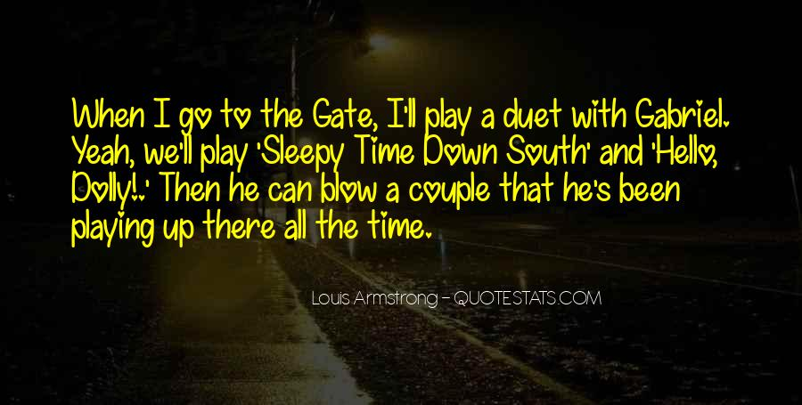 Quotes About Down South #1632275