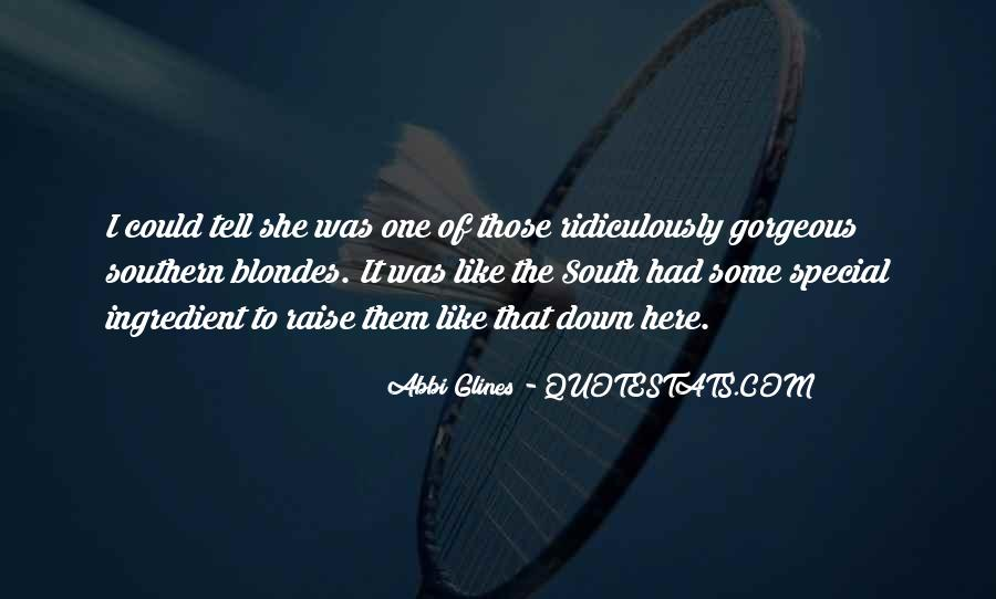 Quotes About Down South #299690
