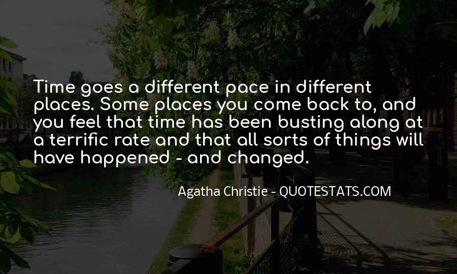 Quotes About Pace Of Change #1437414