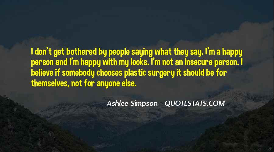 Quotes About Plastic Person #1344516