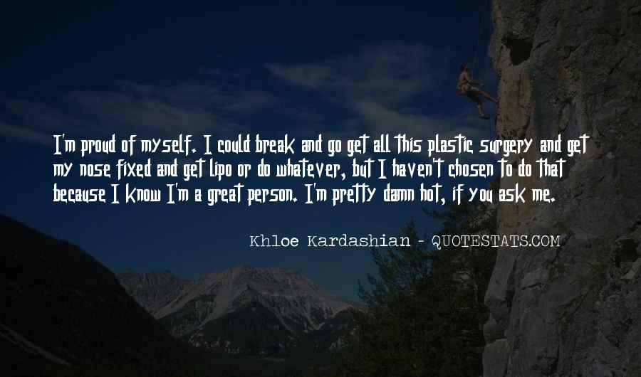 Quotes About Plastic Person #46931