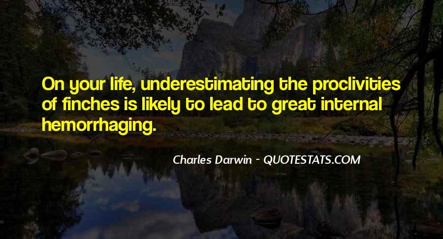 Top 100 Quotes About Underestimate: Famous Quotes & Sayings ...