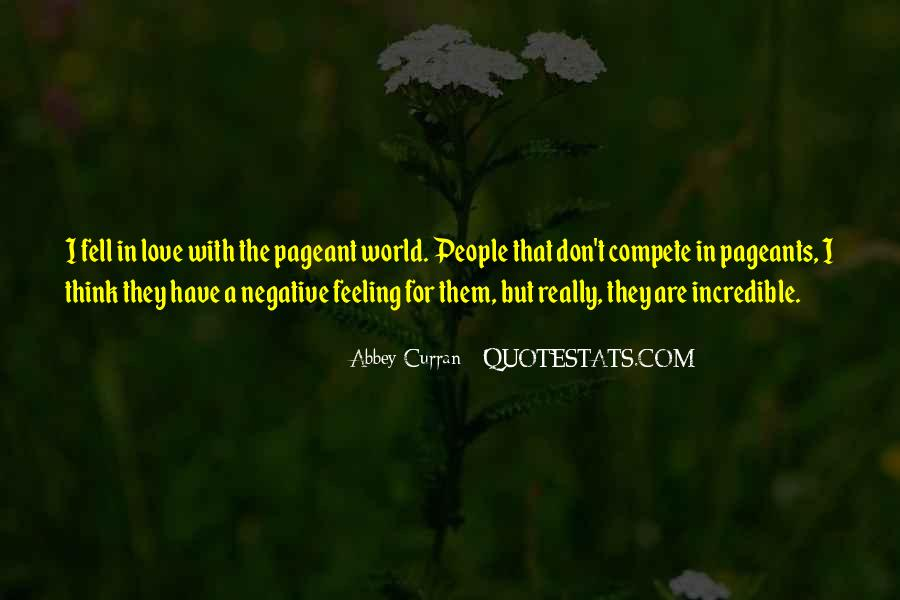 Quotes About Pageants #1135499