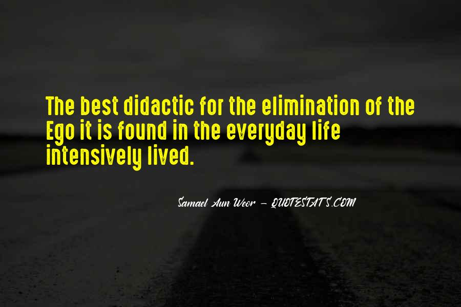 Quotes About Didactic #1597179