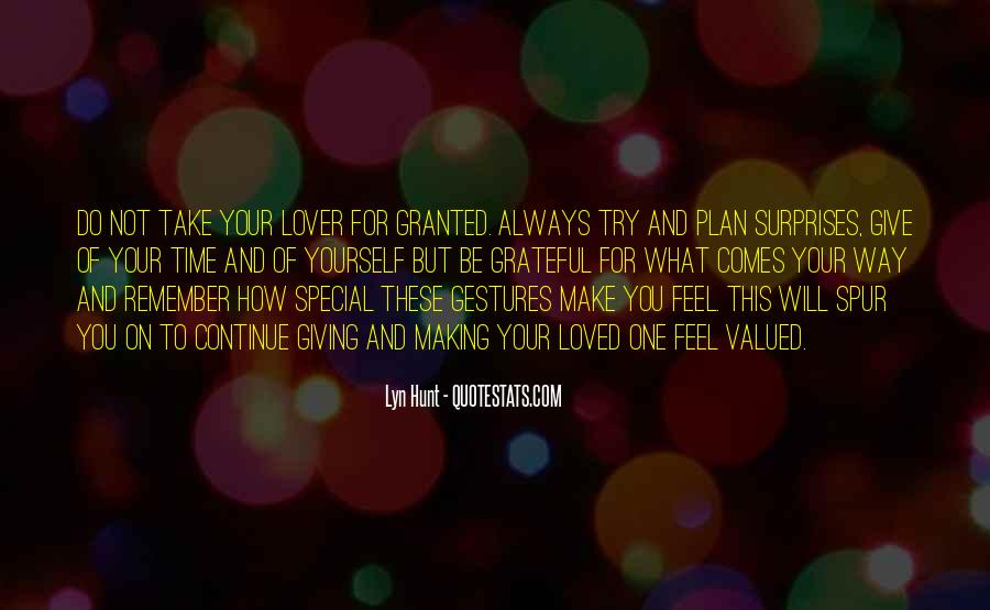 Quotes About Time For Your Loved One #490979