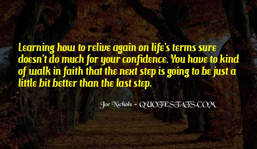 Quotes About Having Little Faith #101414