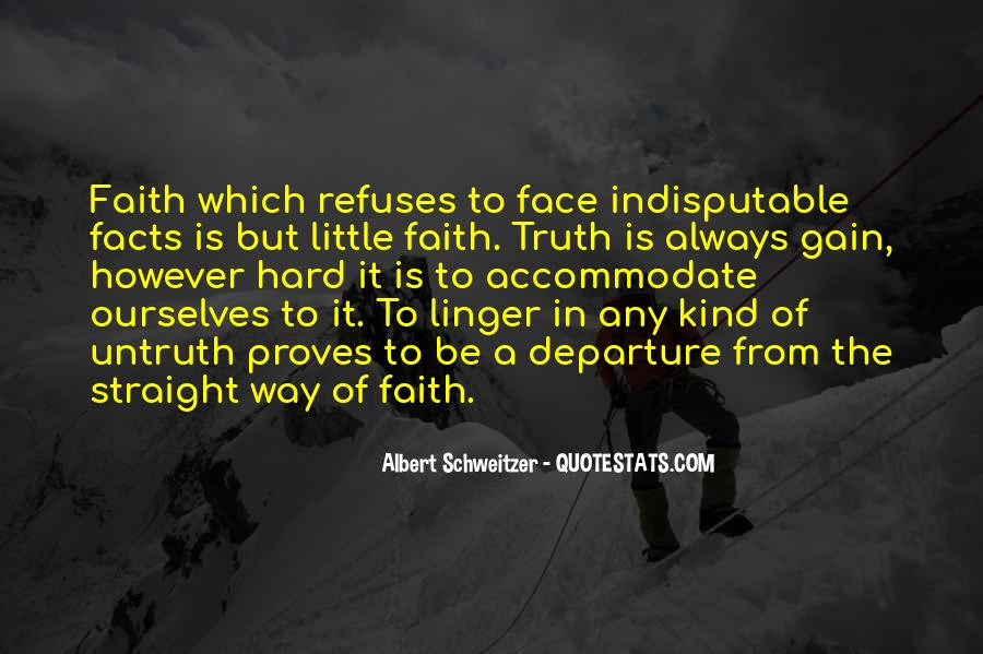 Quotes About Having Little Faith #128652