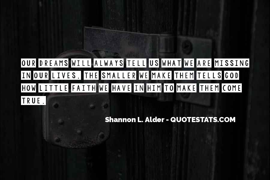 Quotes About Having Little Faith #1830565