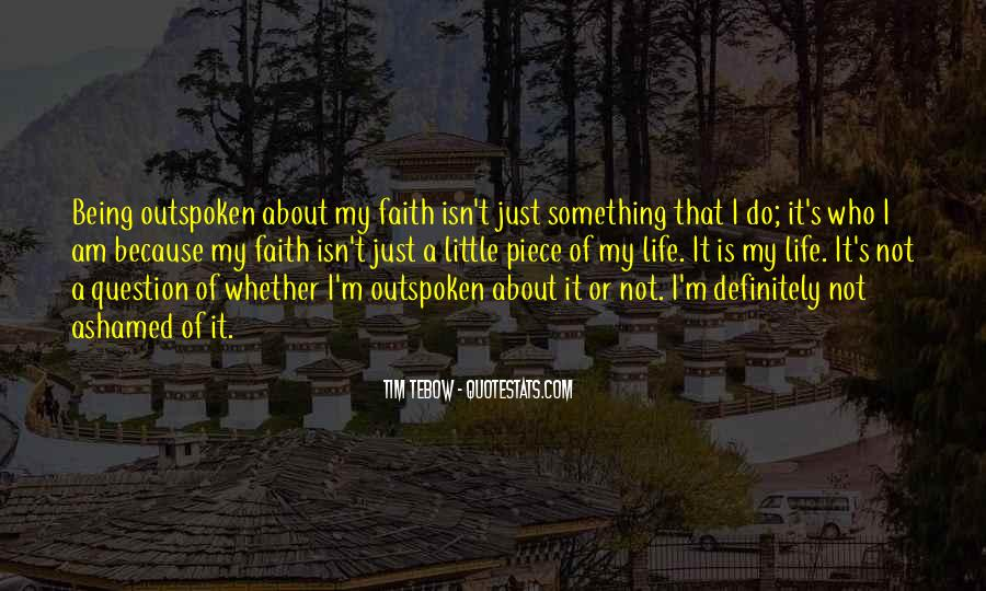 Quotes About Having Little Faith #18858
