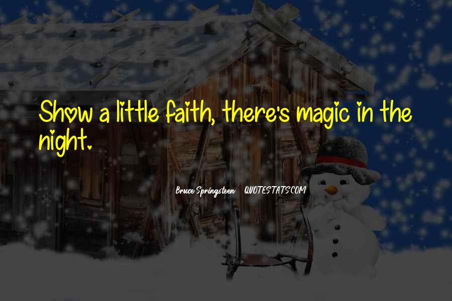Quotes About Having Little Faith #24560