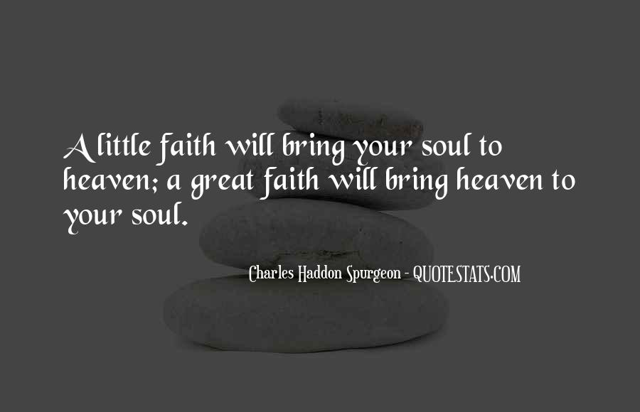 Quotes About Having Little Faith #54969