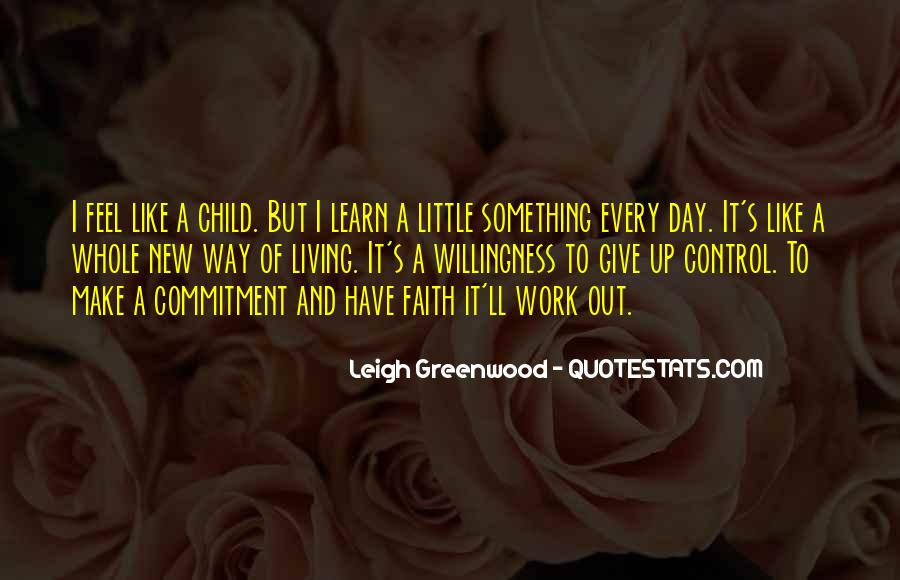Quotes About Having Little Faith #84036