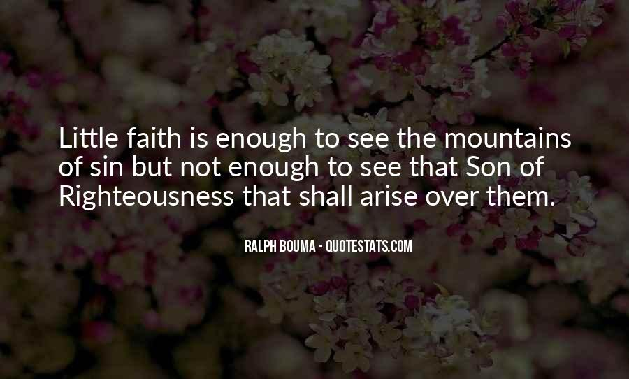 Quotes About Having Little Faith #95101