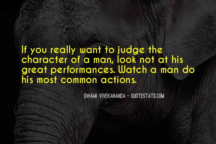 Quotes About Judging Character #1209761