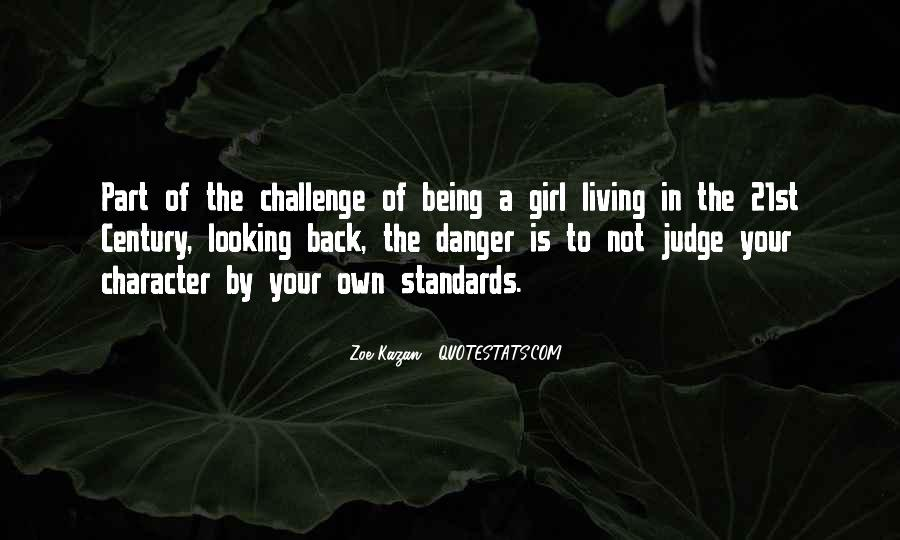 Quotes About Judging Character #1310