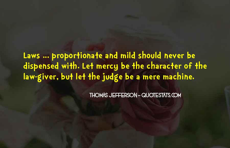 Quotes About Judging Character #13557