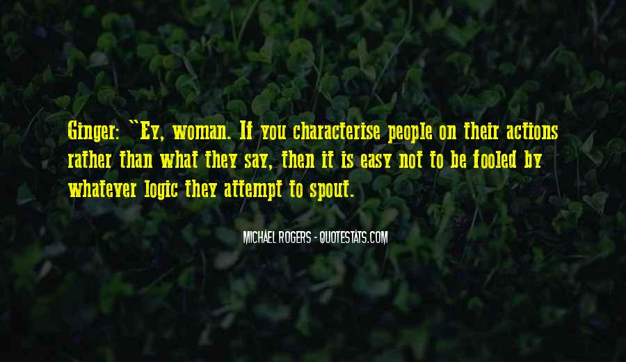 Quotes About Judging Character #1411783