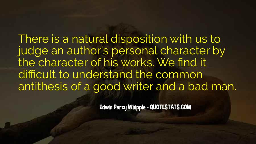 Quotes About Judging Character #148219