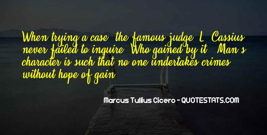 Quotes About Judging Character #1511429