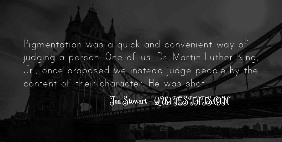 Quotes About Judging Character #45052