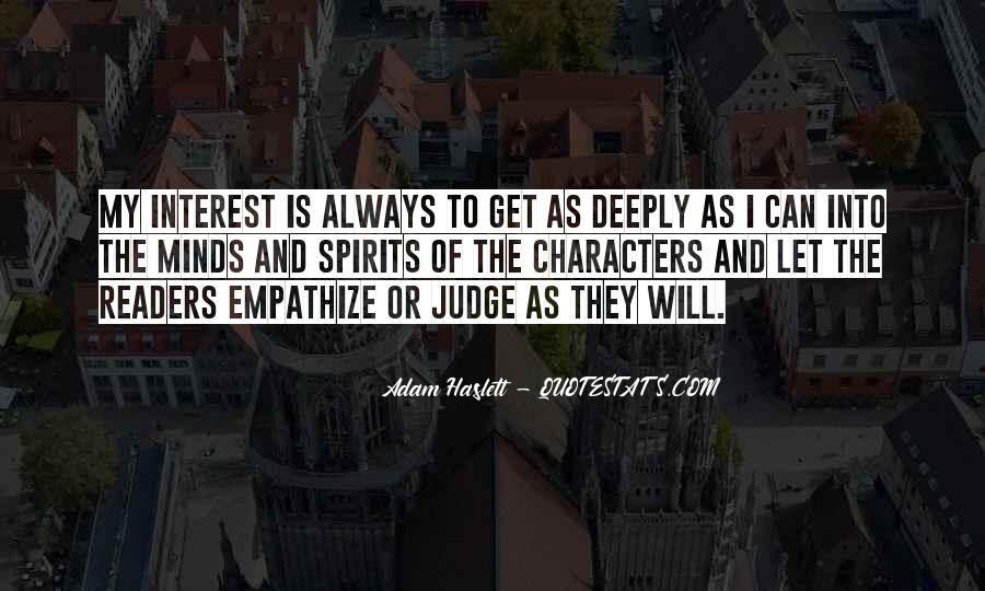 Quotes About Judging Character #580348