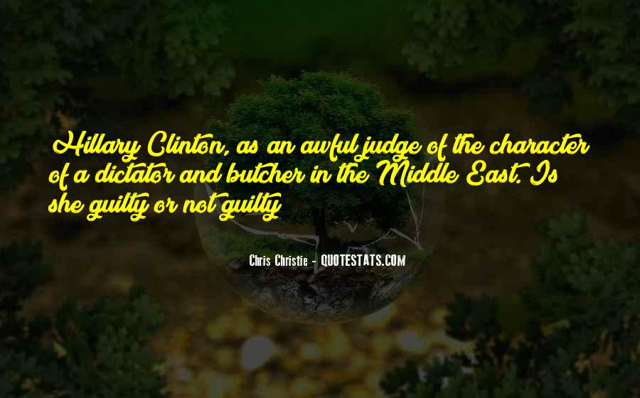 Quotes About Judging Character #863819
