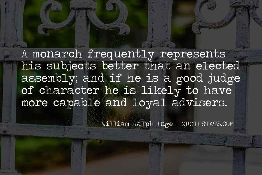Quotes About Judging Character #872822
