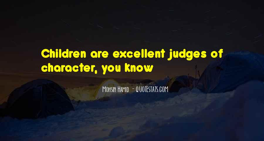 Quotes About Judging Character #942023