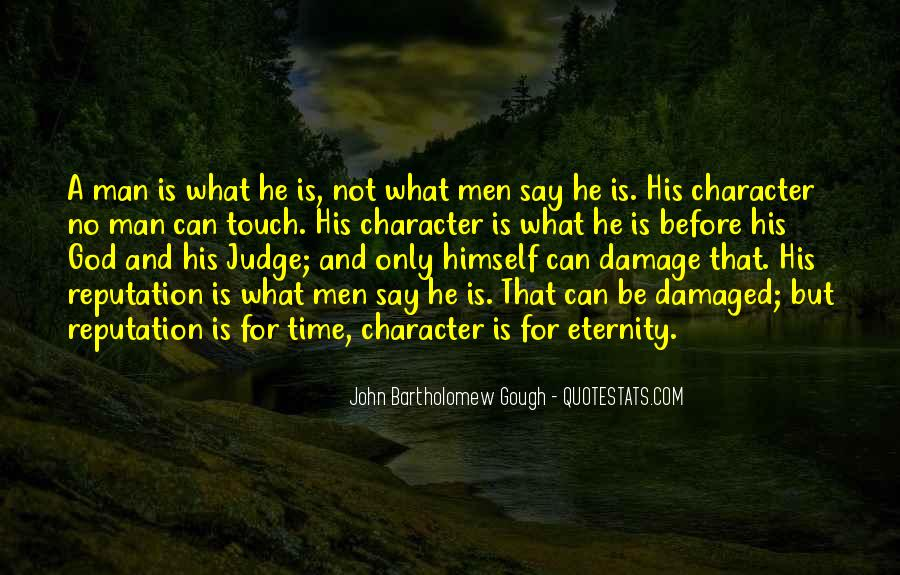 Quotes About Judging Character #989647