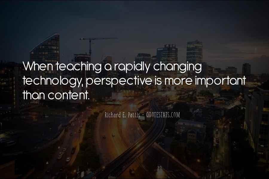 Quotes About Technology And Learning #1003181
