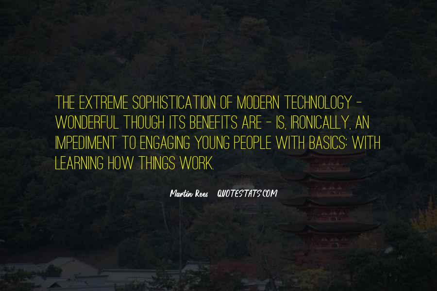 Quotes About Technology And Learning #1009884