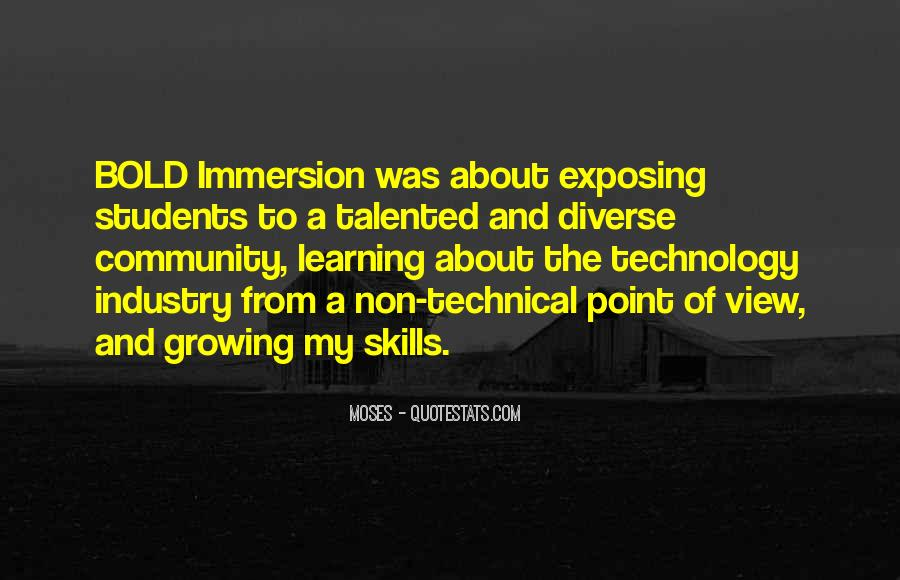 Quotes About Technology And Learning #1138282