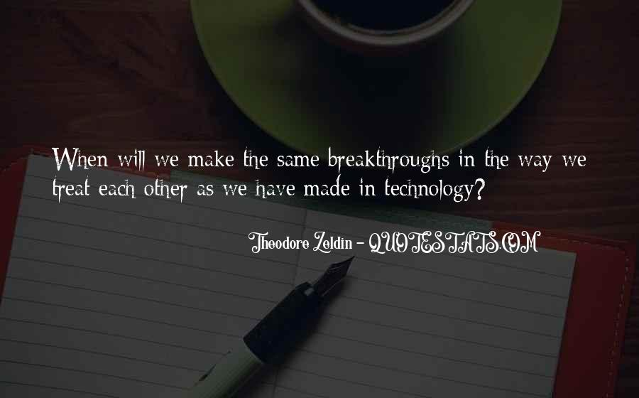 Quotes About Technology And Learning #1359613