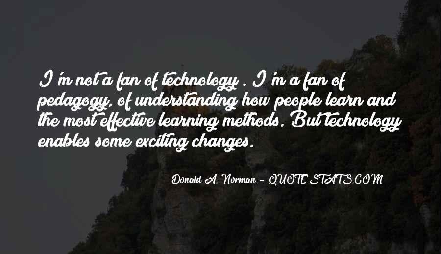 Quotes About Technology And Learning #1406029