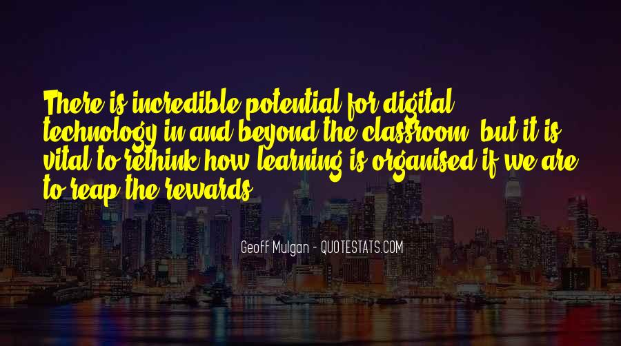 Quotes About Technology And Learning #1511222