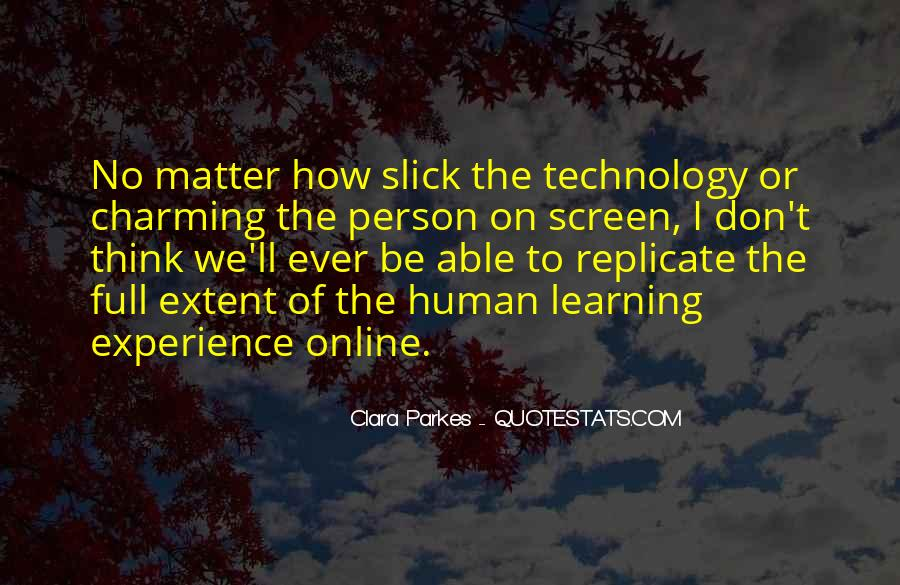 Quotes About Technology And Learning #154258