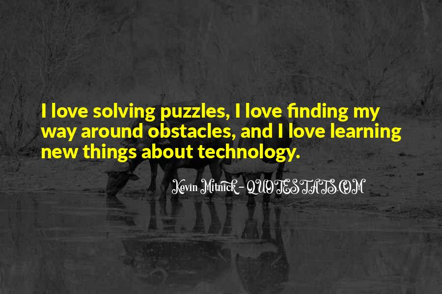 Quotes About Technology And Learning #1771606