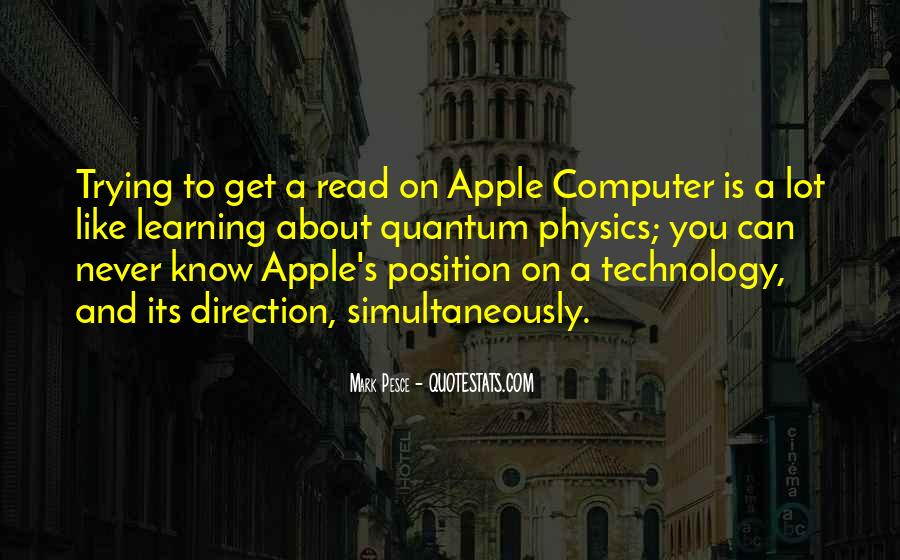 Quotes About Technology And Learning #284432