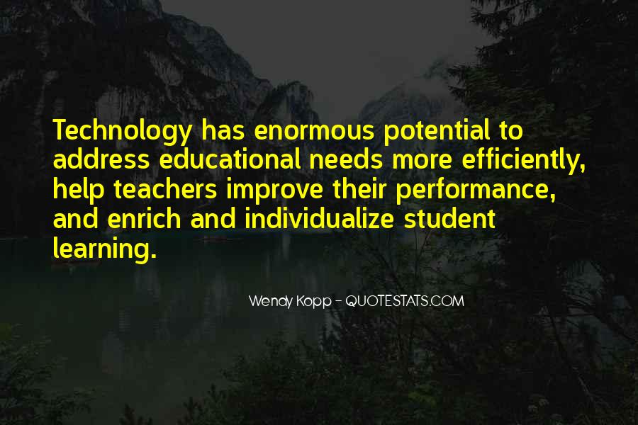 Quotes About Technology And Learning #377642