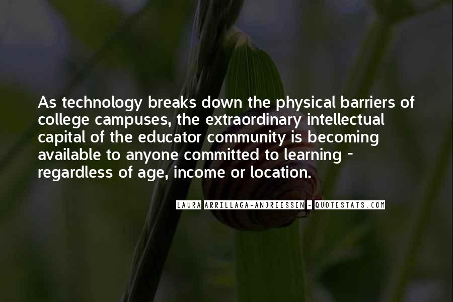 Quotes About Technology And Learning #736385